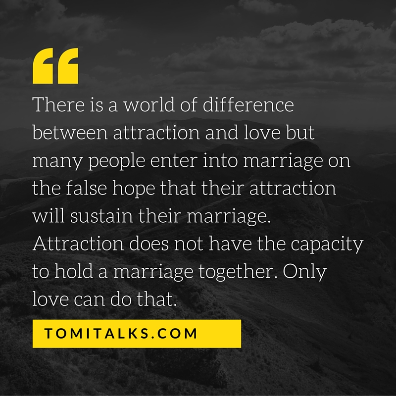 Attraction vs Love