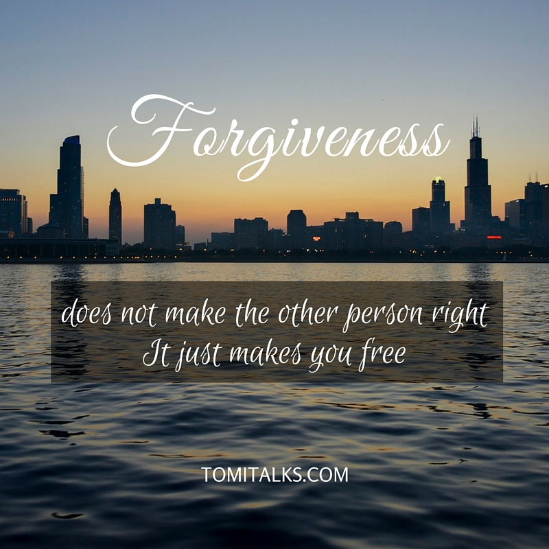 Forgiving and free