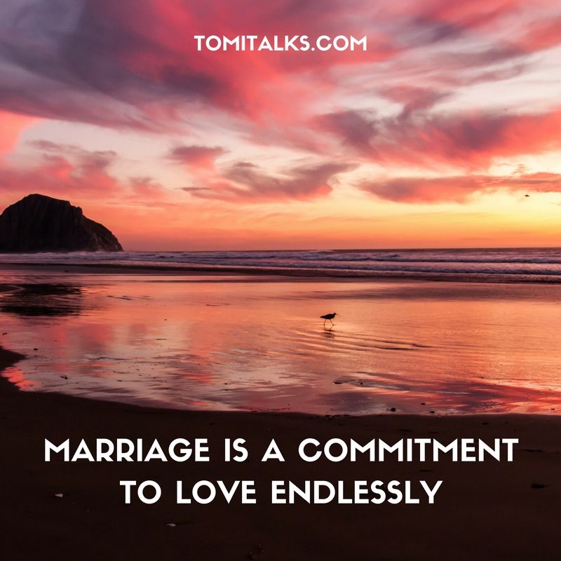Marriage is...