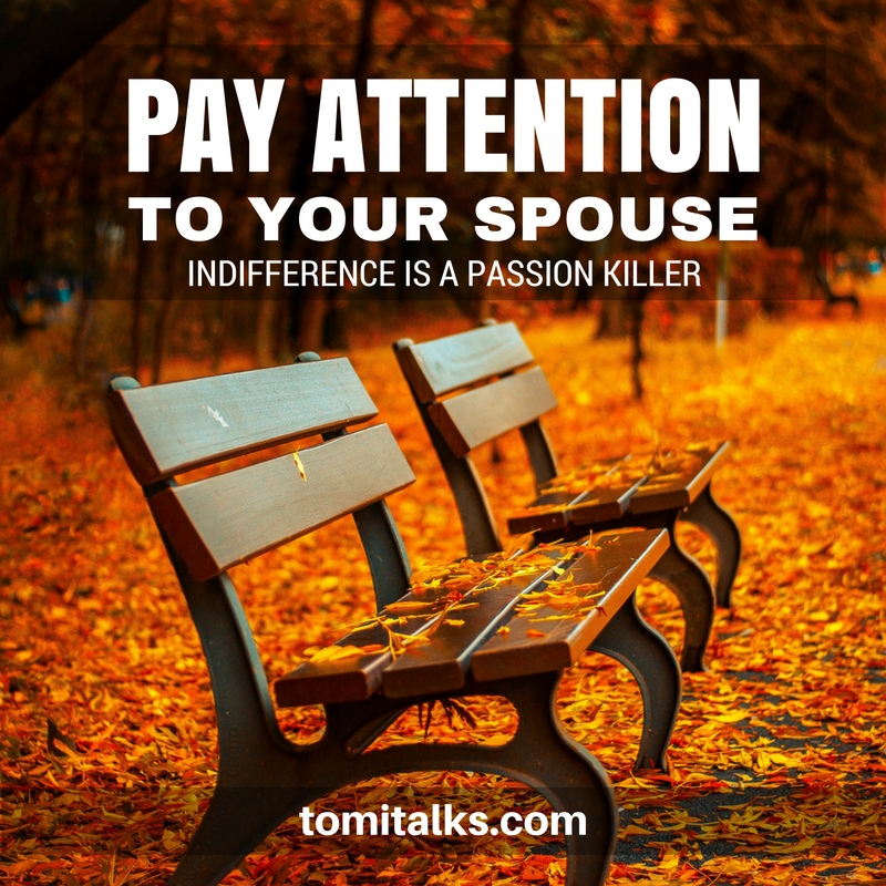 Notice your spouse...again