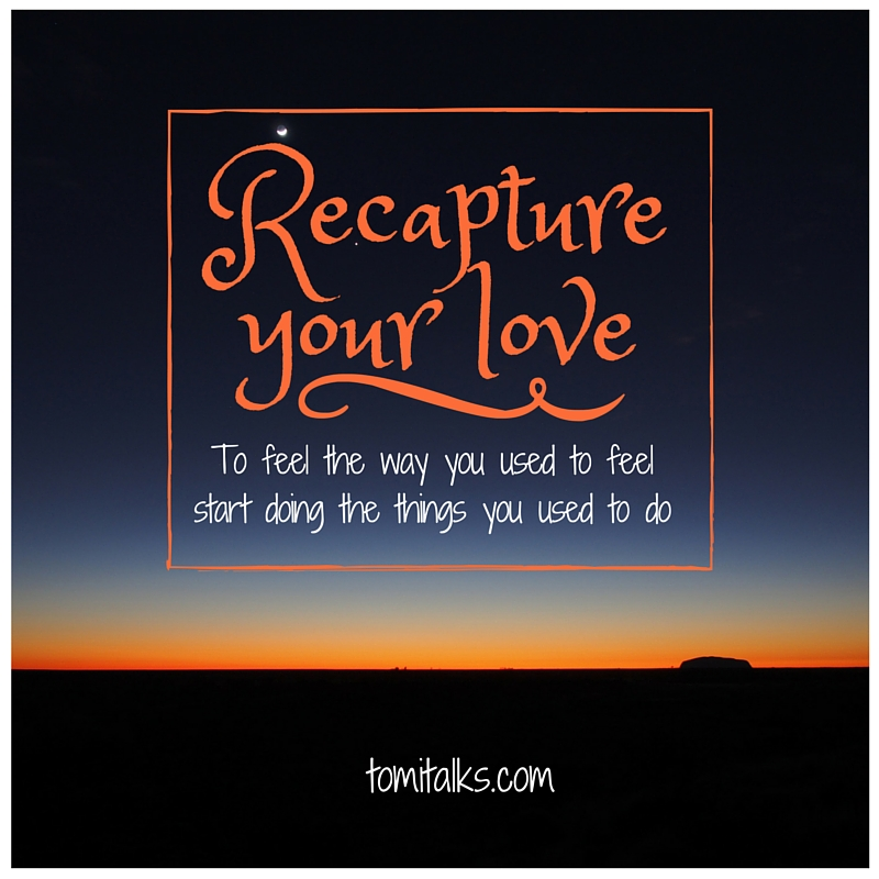 Recapture your love